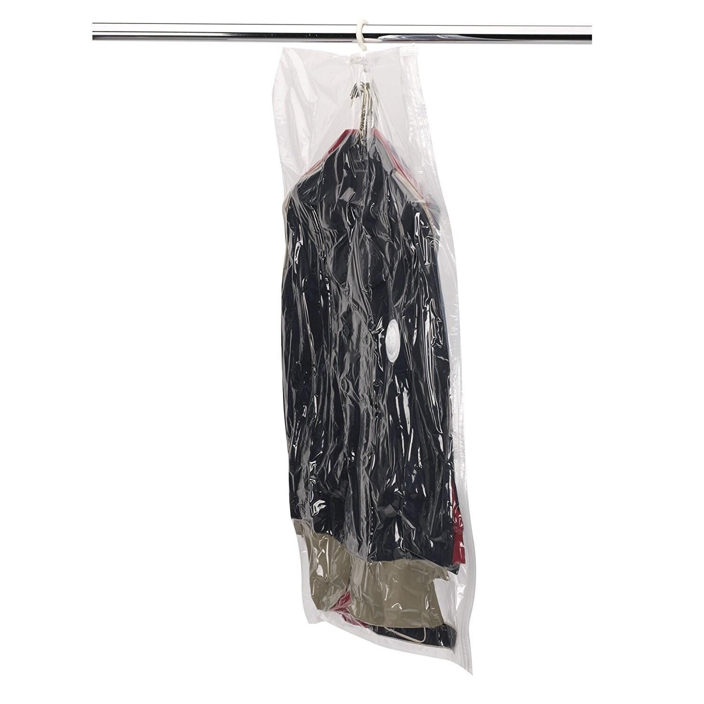 MightyStor Large Hanging Garment Vacuum Bag (43.3 x 27.6 ...