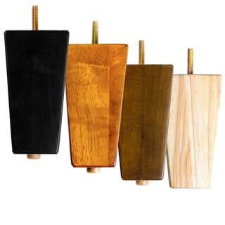 MJL Furniture Designs Set of 4 Large Block Wooden Furniture Feet|https://ak1.ostkcdn.com/images/products/14084146/P20694655.jpg?impolicy=medium