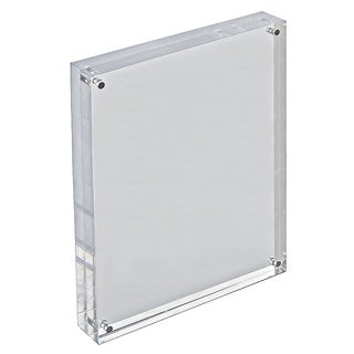 Azar 104436 8.5 x 11 Vertical/Horizontal Acrylic Block Frame