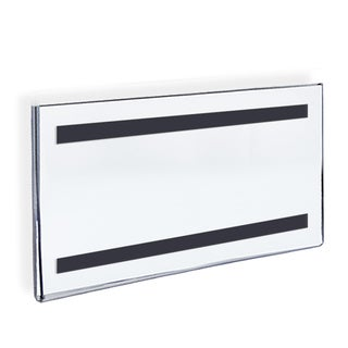 Azar 129937 17 W x 11 H Sign Holder with Magnetic Strip, 10Pack