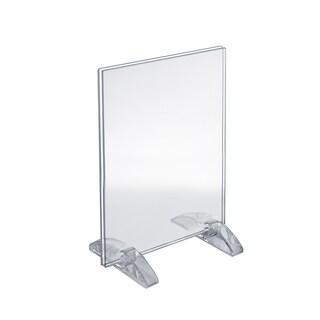 Azar 132714 8.5  x 11  Dual-Stand Acrylic Sign Holder, 10Pack