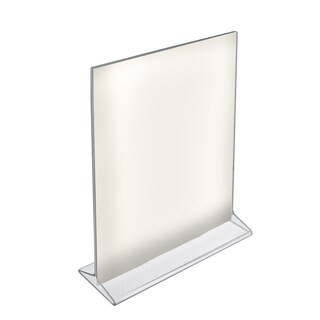 Azar 142715 8.5 W x 11 H Top-Load Acrylic Sign Holder, 10Pack