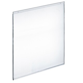Azar 17x22-inch Wall U-Frame Acrylic Sign Holder (Pack of 10)
