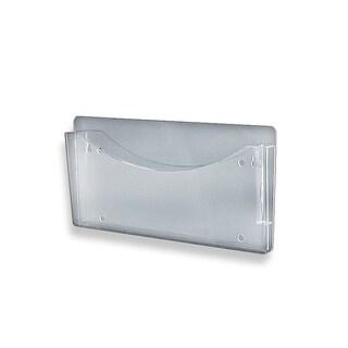 Azar 250000 Clear Single Pocket Wall File, 4Pack