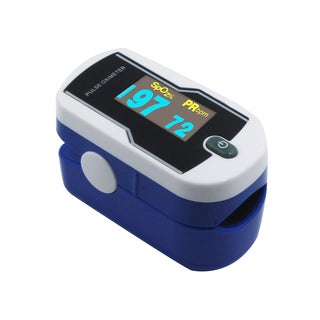 Concord Saphire Deluxe Fingertip Pulse Oximeter with 6-Way OLED Display