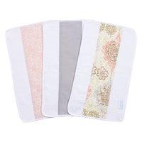 3adb4e344 Trend Lab Waverly Baby Rosewater Glam Cotton Jumbo Burp Cloth Set (Pack of  3)