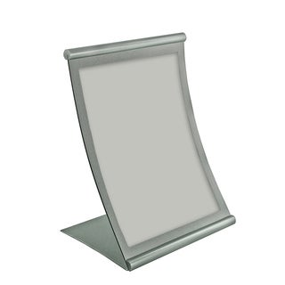 Azar 300880 8.5 W x 14-inch H Curved Metal Frame Sign Holder