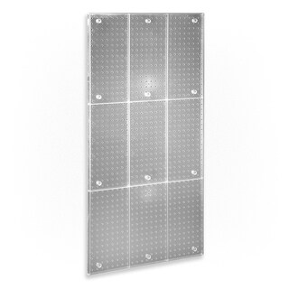 Azar 700248-CLR 24 x 48 Pegboard Panel - CLEAR ONLY