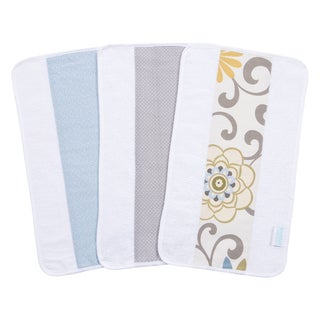 Trend Lab Waverly Baby Pom Pom Spa Jumbo Burp Cloth Set (Pack of 3)