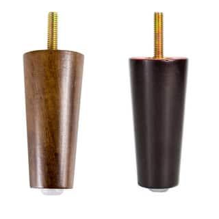 MJL Furniture Designs Mini 3-3/4-inch Tall Peg Wooden Furniture legs (Set of 4)|https://ak1.ostkcdn.com/images/products/14084628/P20695049.jpg?impolicy=medium