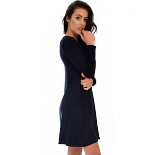 Lyss Loo Shift & Shout Long Sleeve Tunic Dress D1803