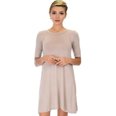 Lyss Loo Reporting For Cutie Women's T-Shirt Tunic Dress