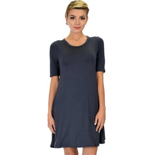 Lyss Loo Reporting For Cutie Women's T-Shirt Tunic Dress