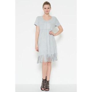 Morning Apple Women's Dress With Fringe