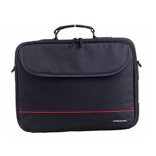 Kingsons 325W Jet Series 15.6-inch Laptop Shoulder Bag (Black)