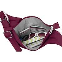 Travelon Anti-Theft Classic Light Drape Front Crossbody Shoulder Bag