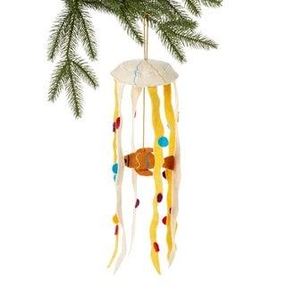 Handmade Felt Sea Life Holiday Ornament (Kyrgyzstan)