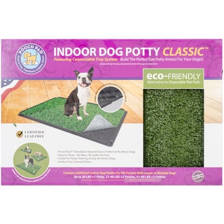 Indoor Turf Dog Potty Classic Connectable