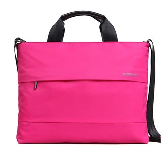 Kingsons Best In Class Charlotte Series 15.4Laptop Shoulder Bag - (Pink)