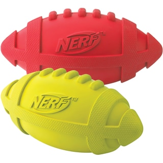 Nerf Squeaker Dog Football Toy