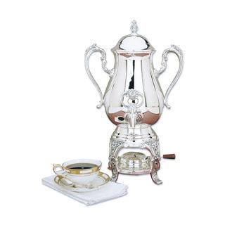 Reed Barton 'Burgundy' Silvertone Metal Coffee Urn