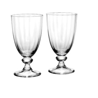 Reed Barton Austin Clear Crystal Goblet (Set of 2)