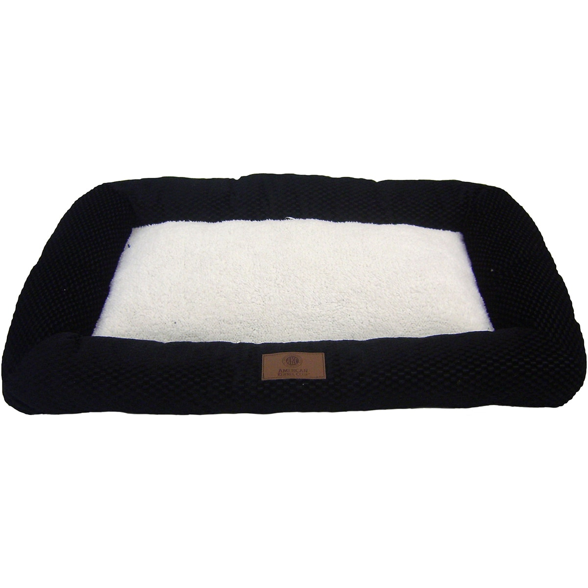 American Kennel Club Bolster Pet Crate Pad (Black - 2.75 ...