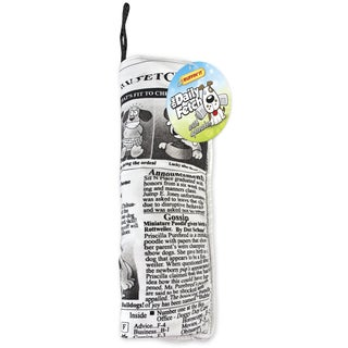 Crinkle Stuffed Daily Fetch Doggy Newspaper Dog Toy