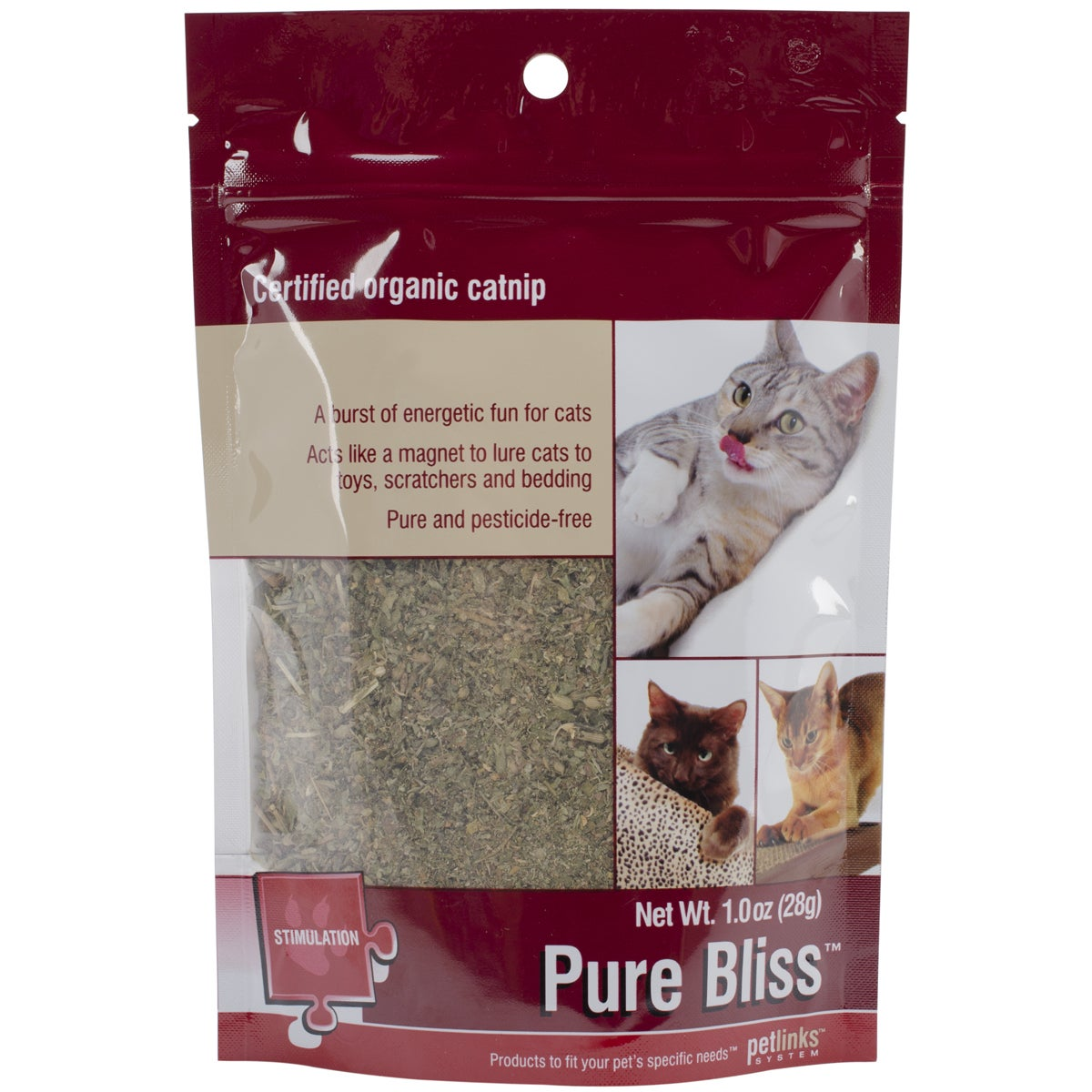 WorldWise Imports Petlinks Pure Bliss Certified Organic C...