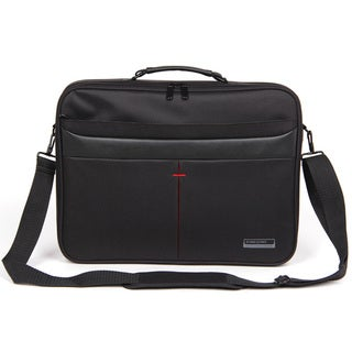 Kingsons Corporate Series 15.6-inch Laptop Messenger Bag (Black)