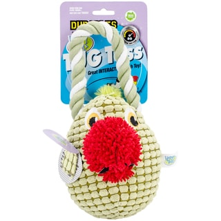 Durables Happy Tails Tug Toss Dog Toy