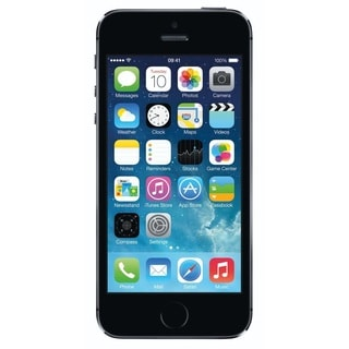 Apple iPhone 5s 64GB Unlocked GSM Phone - Gray (Refurbished)+ Mophie 2779 Powerstation Mini Purple