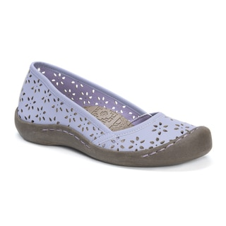 MUK LUKS Women's Sandy Purple Slip On Shoes