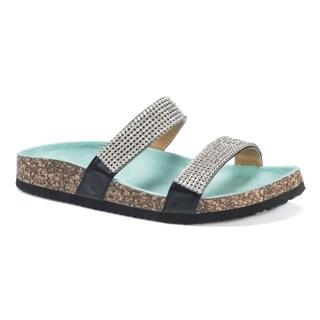 Muk Luks Women's Delilah Green EVA Sandals
