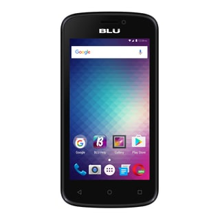 BLU Advance 4.0M Unlocked GSM Quad-Core Phone - Blue