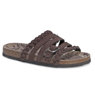 Muk Luks Women's Terri Brown Sandals