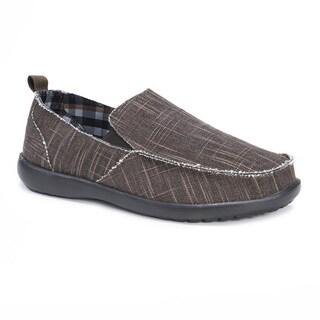 Muk Luks Men's Andy Brown Shoes