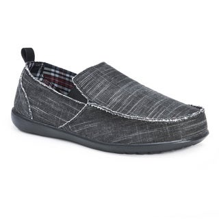 Muk Luks Men's Andy Black Shoes