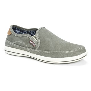 Muk Luks Men's Otto Green and Khaki Shoes