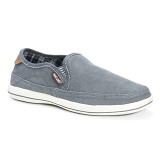 Muk Luks Men's Otto Grey Canvas Shoes