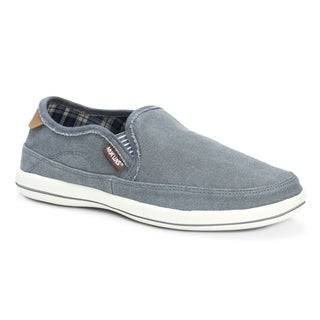 Muk Luks Men's Otto Grey Canvas Shoes
