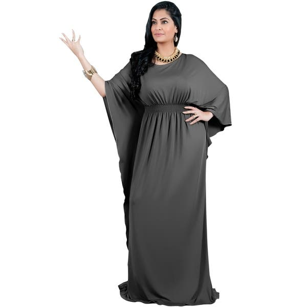 Shop Adelyn & Vivian Women\'s Plus Size Long Batwing Sleeve ...