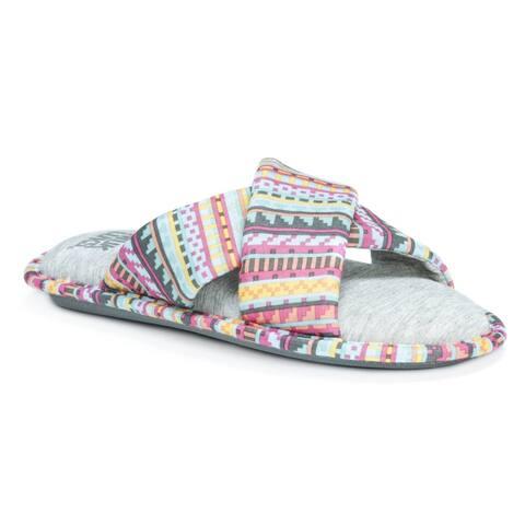 Muk Luks Women's Magda Multicolor Slippers