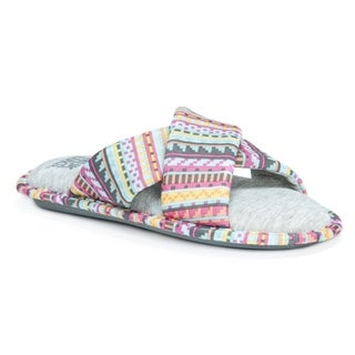 Muk Luks Women's Magda Multicolor Slippers