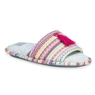 MUK LUKS Women's Polyester Florence Slippers