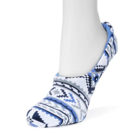 Muk Luks Womens Ballerina Slipper Socks