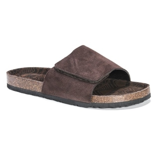 Muk Luks Men's Jackson Brown Sandals