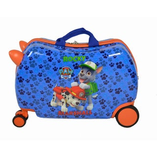 """Paw Patrol Cruizer """"Rocky & Marshall"""" Ride-On Hardside Rolling Suitcase (16 in.)"""