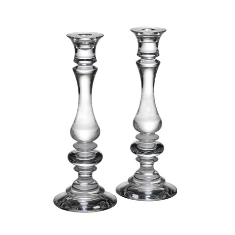 Reed & Barton Weston 11-inch Crystal Candlesticks (Set of 2)