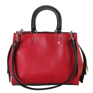 Diophy Multi Spaced Top Handle with Removable Double Shoulder Strap Handbag|https://ak1.ostkcdn.com/images/products/14086423/P20696653.jpg?impolicy=medium